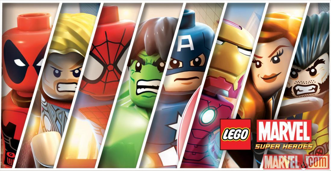 LEGO Marvel Super Heroes Character List