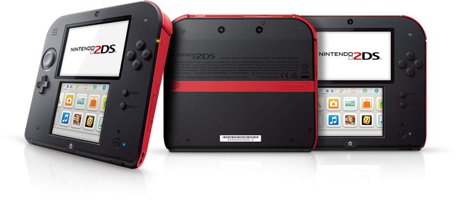 Nintendo Announces the 2DS, a Budget Handheld Targeted at Young Children