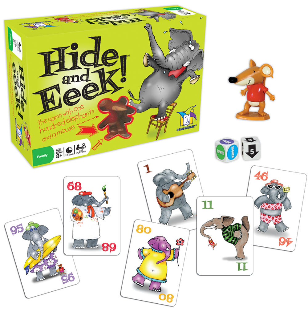 Hide and Eek! A Board Game for the Whole Family!