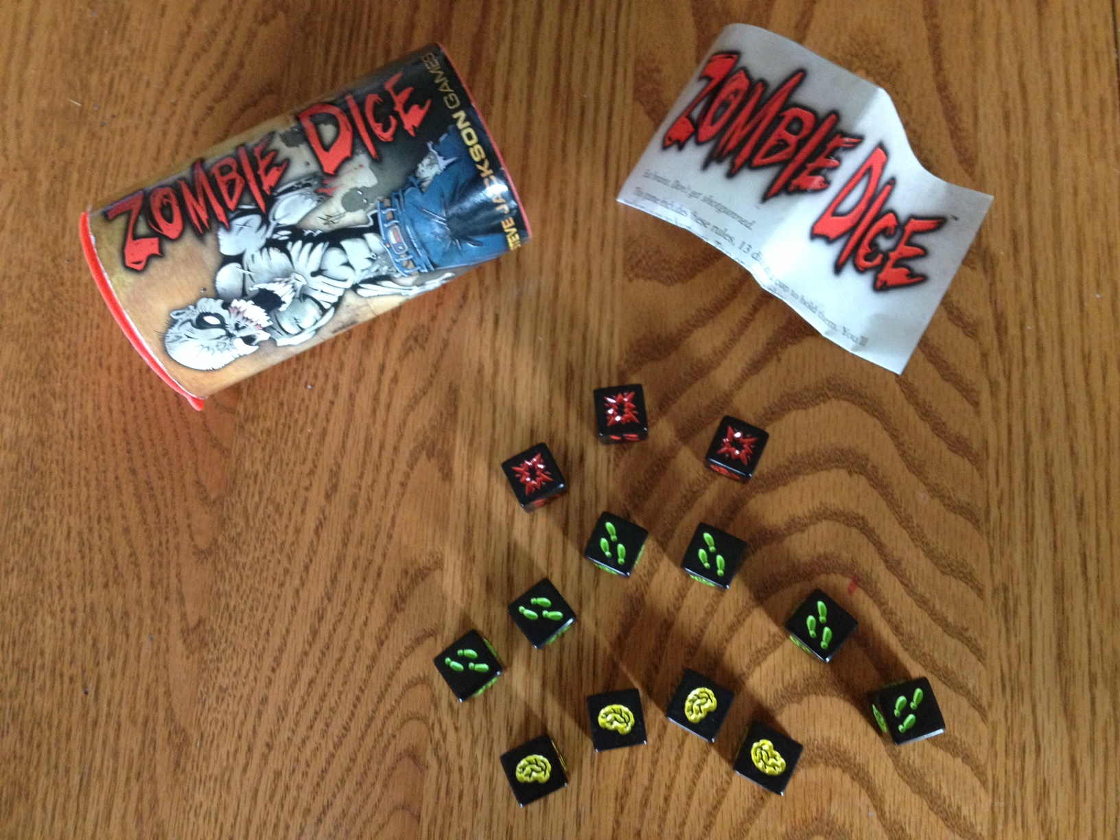 Zombie Dice Review