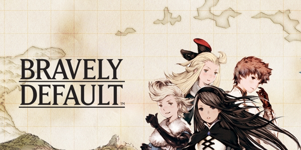 Bravely Default and four main characters