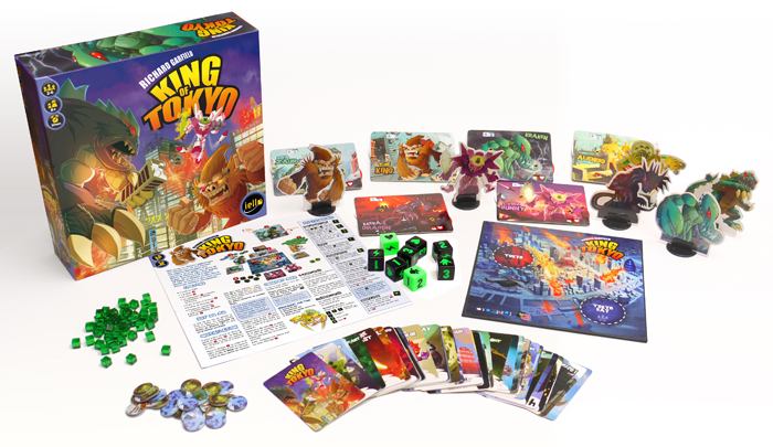 Board Game Review: King of Tokyo