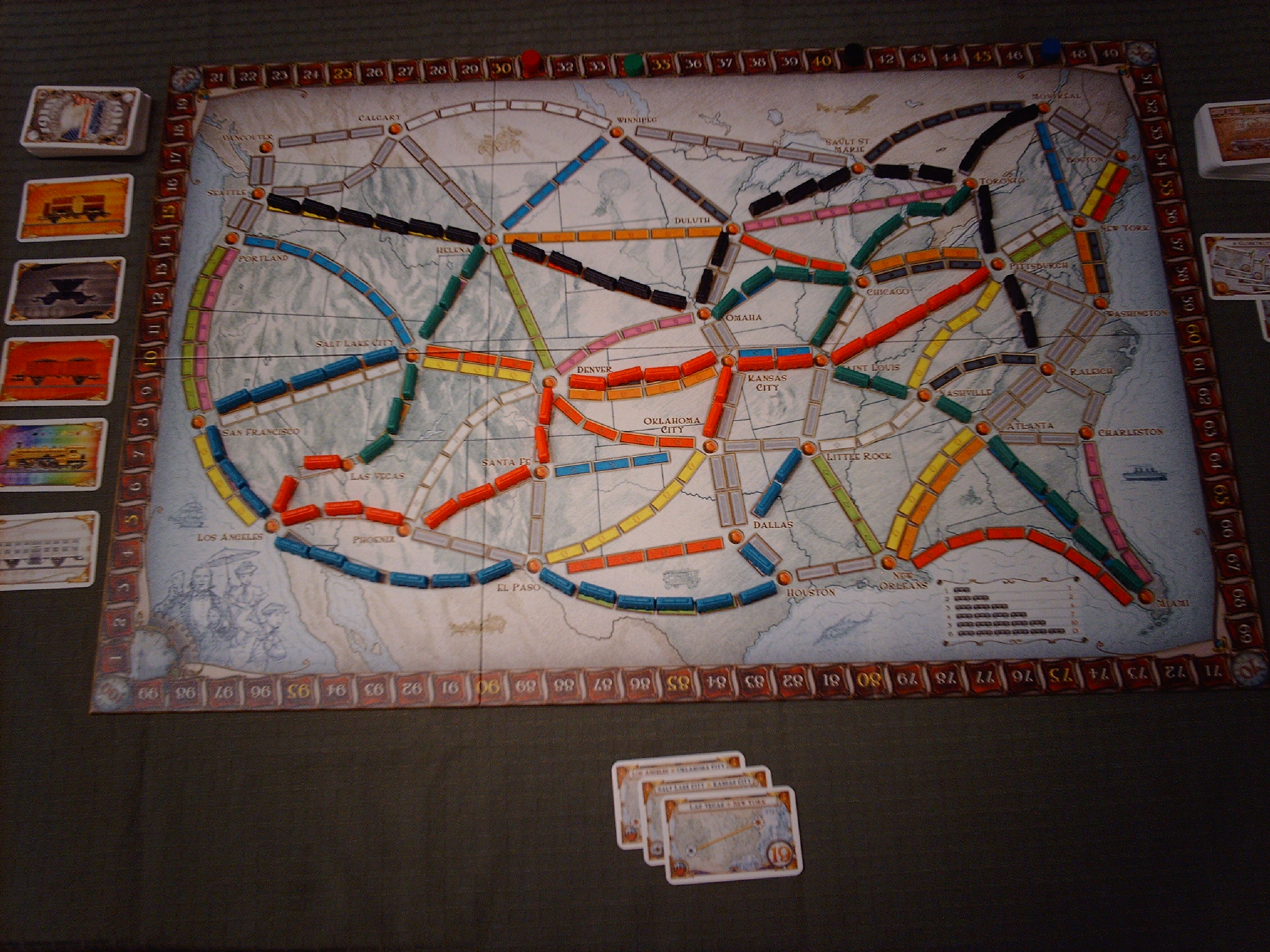Board Game Review - Ticket to Ride
