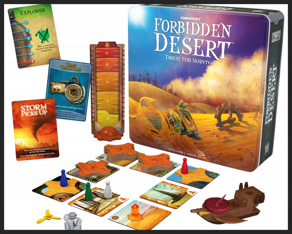 Board Game Review: Forbidden Desert