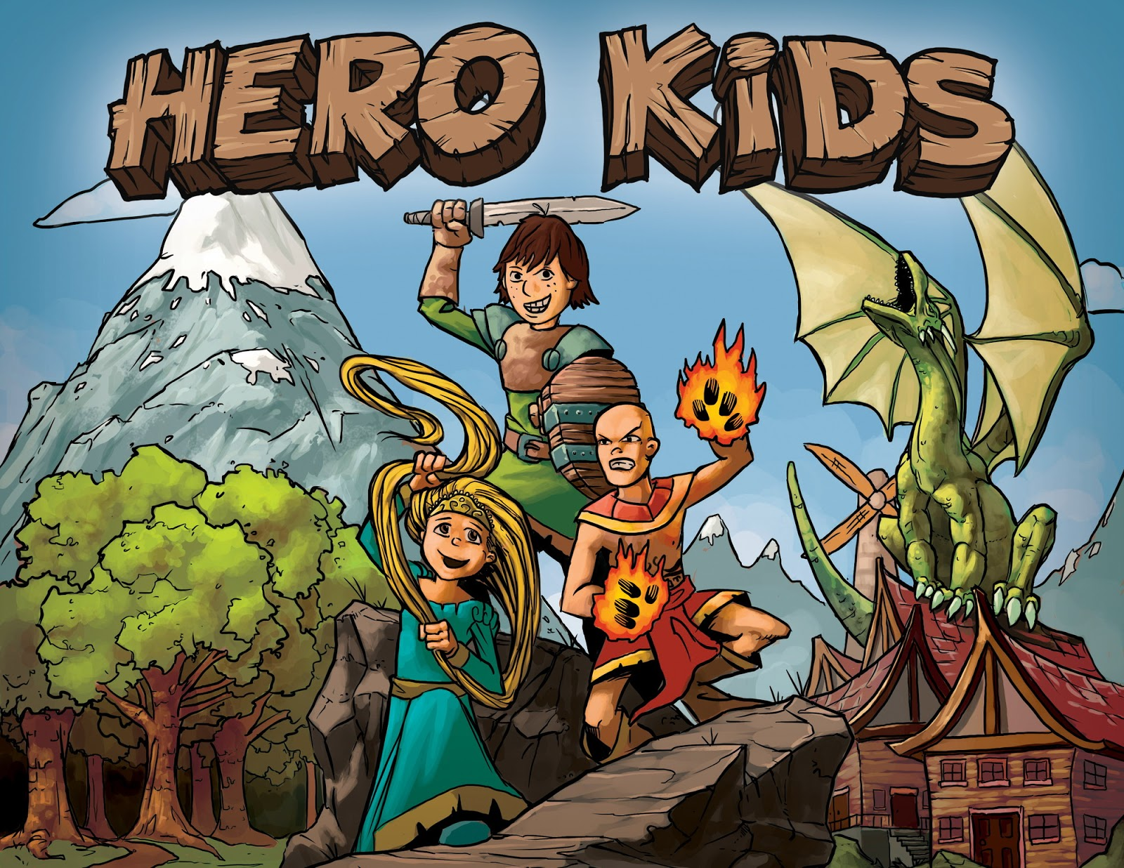 Tabletop RPG Review: Hero Kids