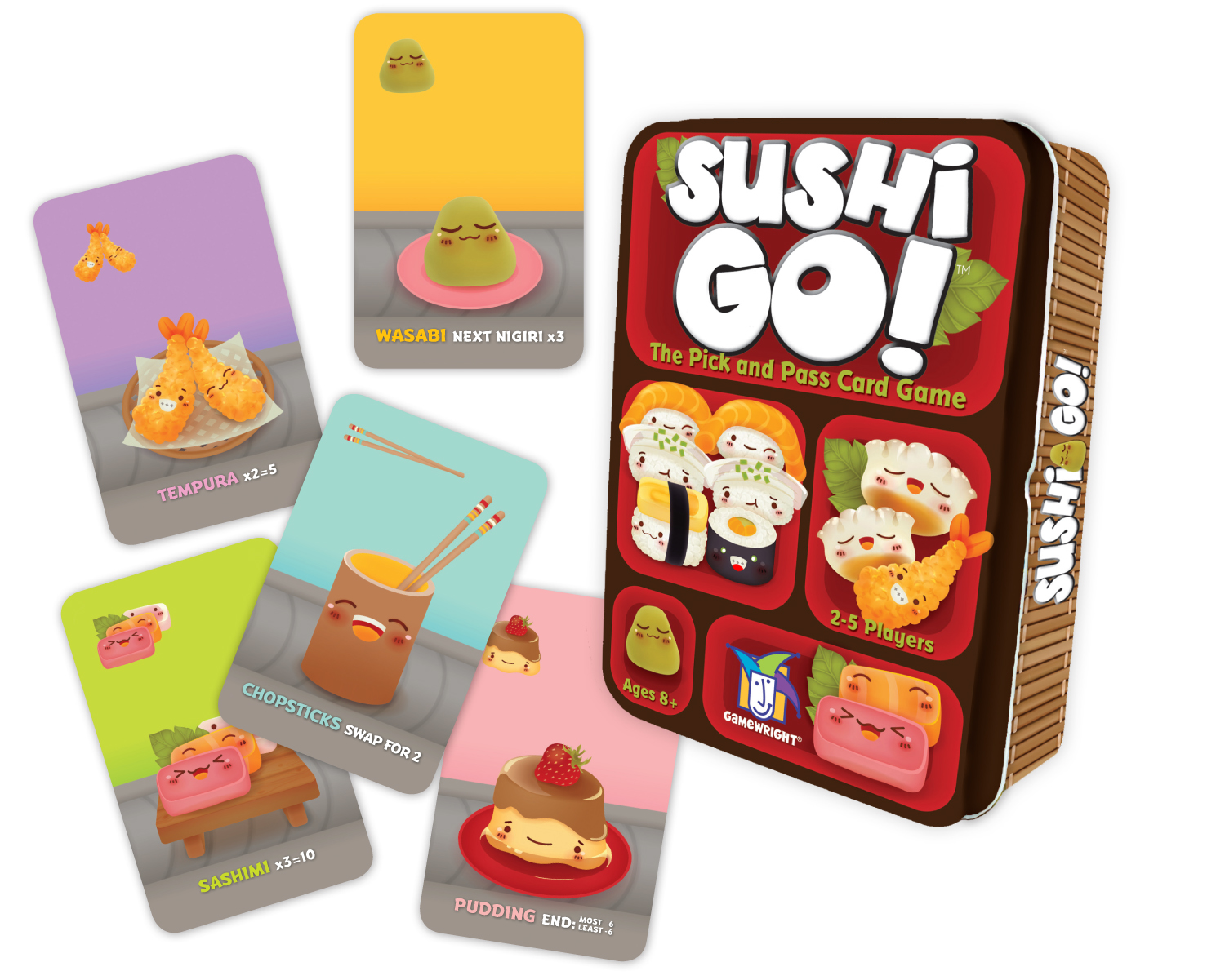 Board Game Review: Sushi Go!