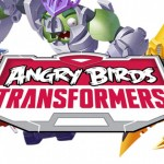 Angry Birds Transformers logo and characters