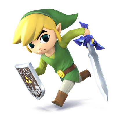 Super Smash Brothers Characters - Cartoon Link