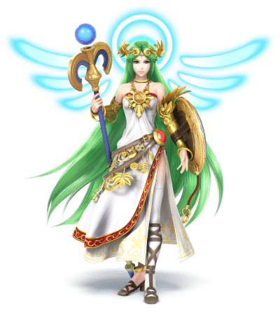 Super Smash Brothers Characters - Lady PalutenaSuper Smash Brothers Characters - Lady Palutena