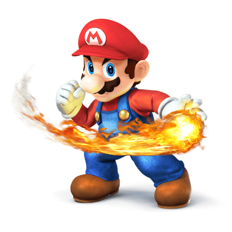 Super Smash Brothers Characters - Mario