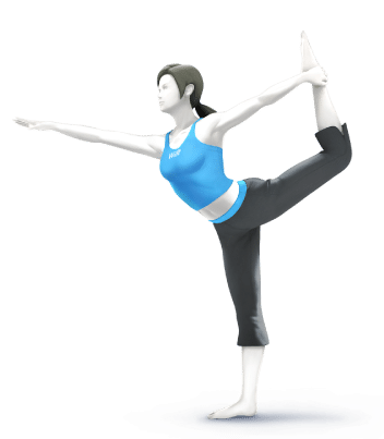 Super Smash Brothers Characters - Wii Fit Trainer