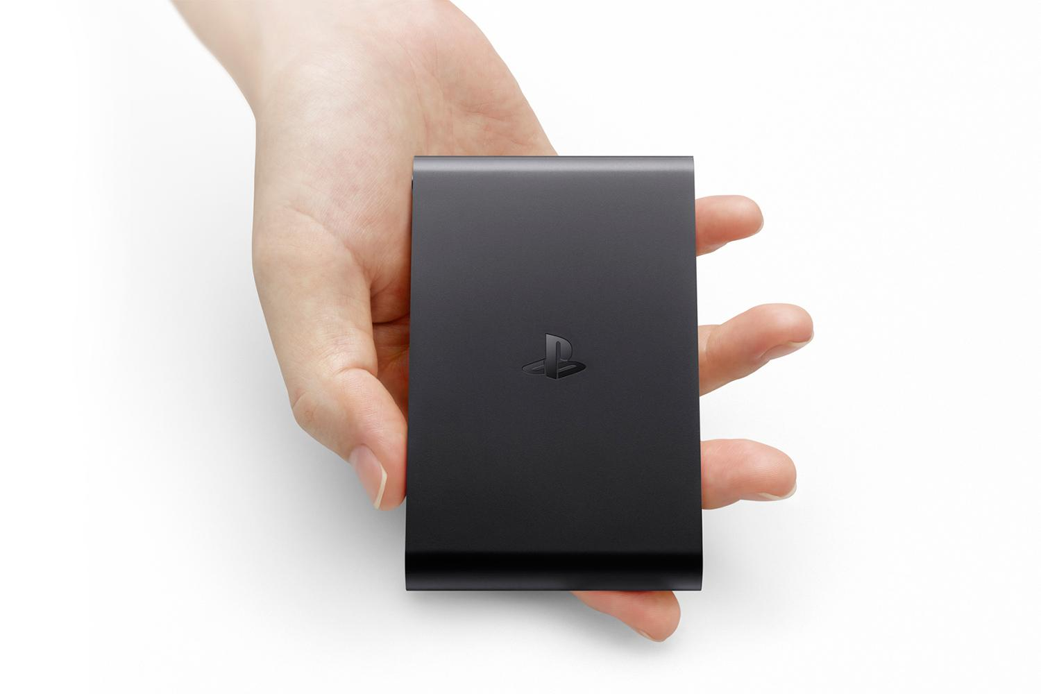 photo of the Sony PlayStation TV hardware