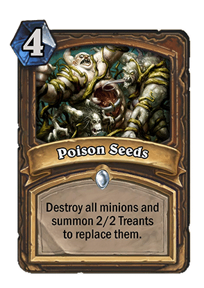 poison seeds- Hearthstone Curse of Naxxramas Card