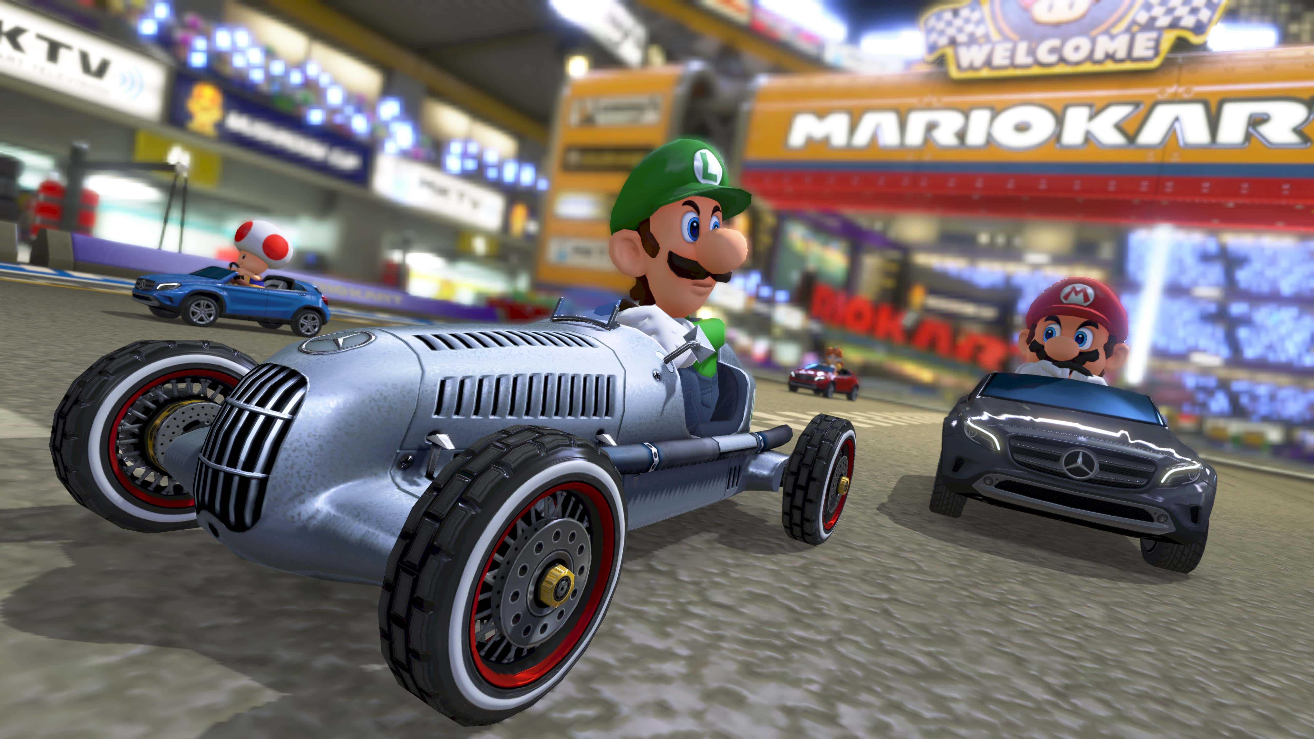 Free Update Coming to Mario Kart 8