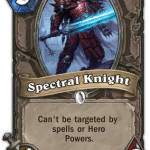 Spectral Knight Hearthstone: Curse of Naxxramas card