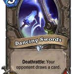 Dancing Swords Hearthstone: Curse of Naxxramas card