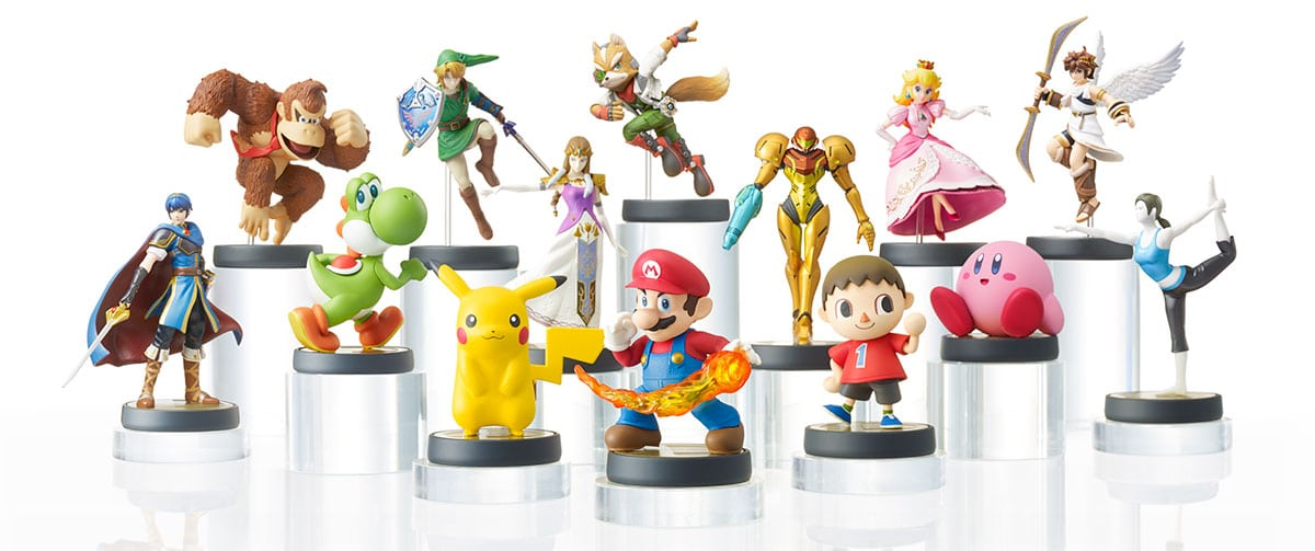 The First 12 Nintendo Amiibo Figures are Available for Preorder!
