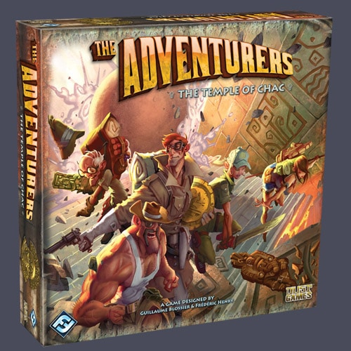 Board Game Review: The Adventurers: Temple of Chac