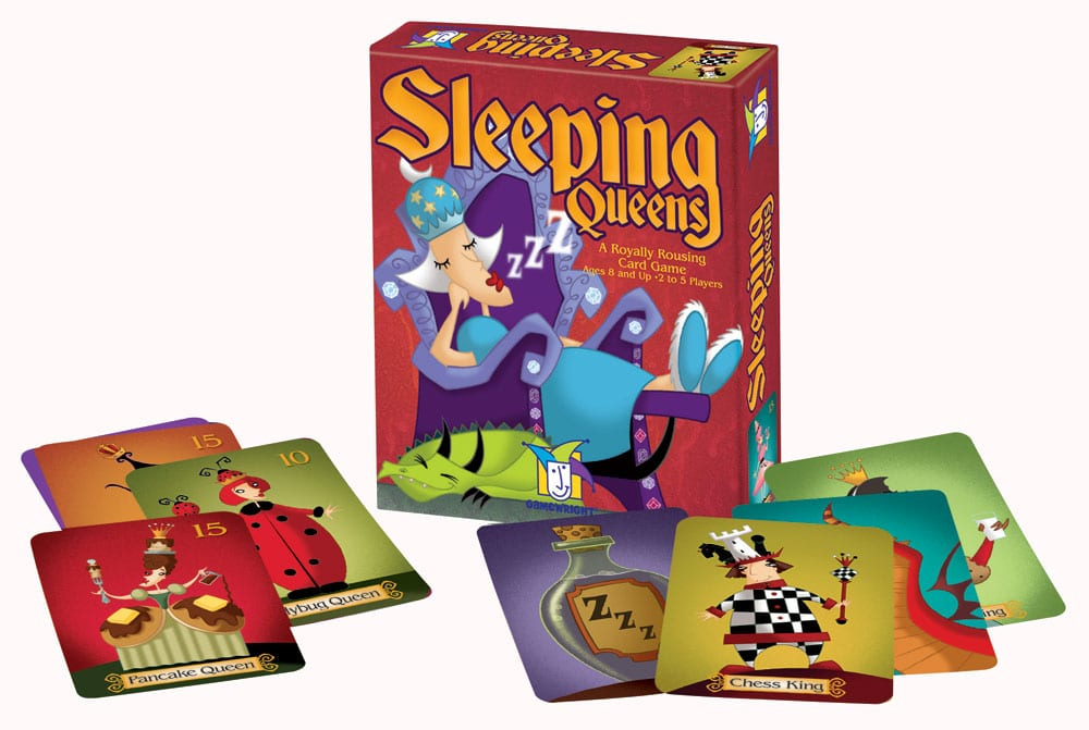 Board Game Review - Sleeping Queens