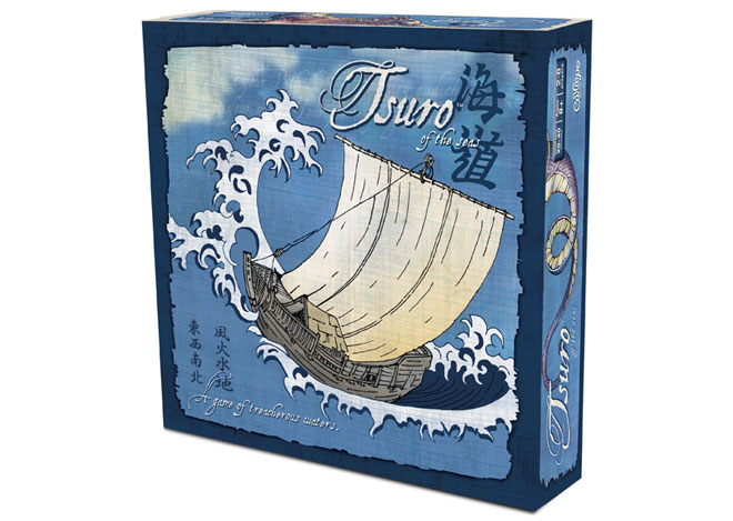 Board Game Review: Tsuro of the Seas