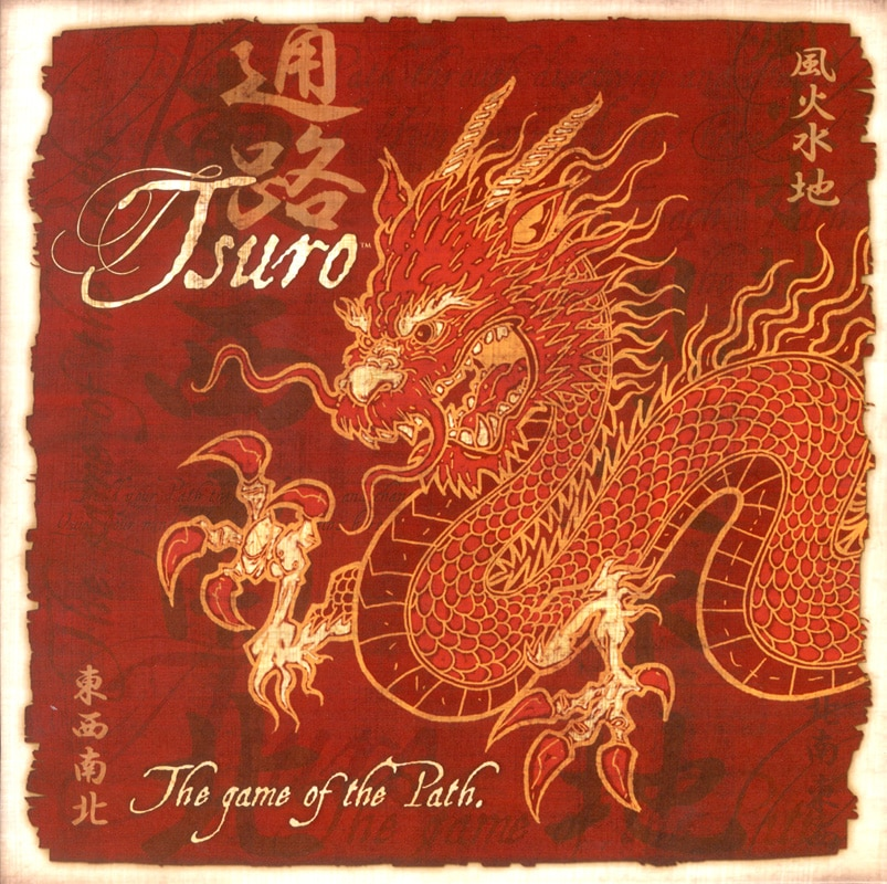 Board Game Review: Tsuro: The Game of The Path