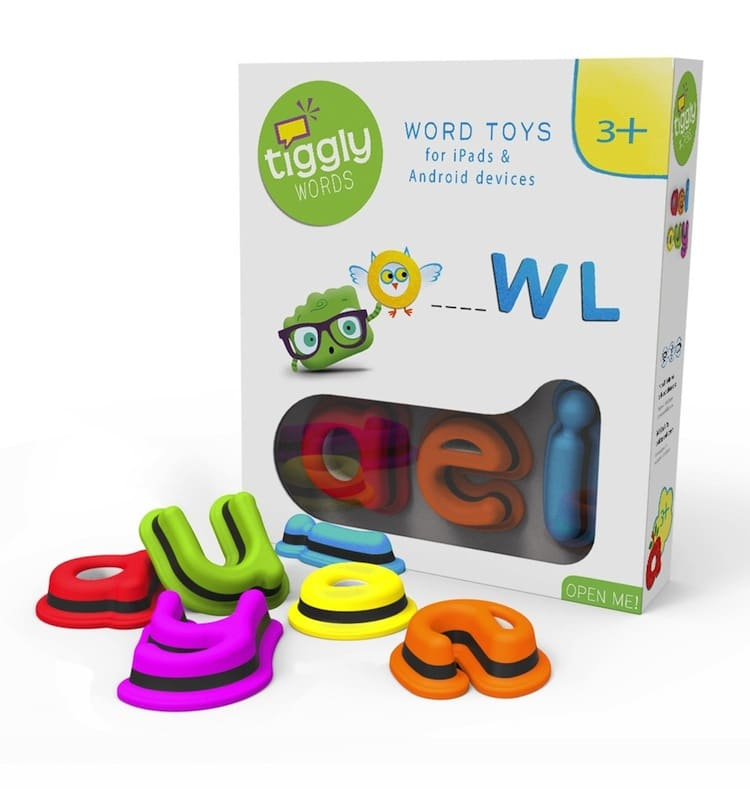 Tiggly Words Box and toys