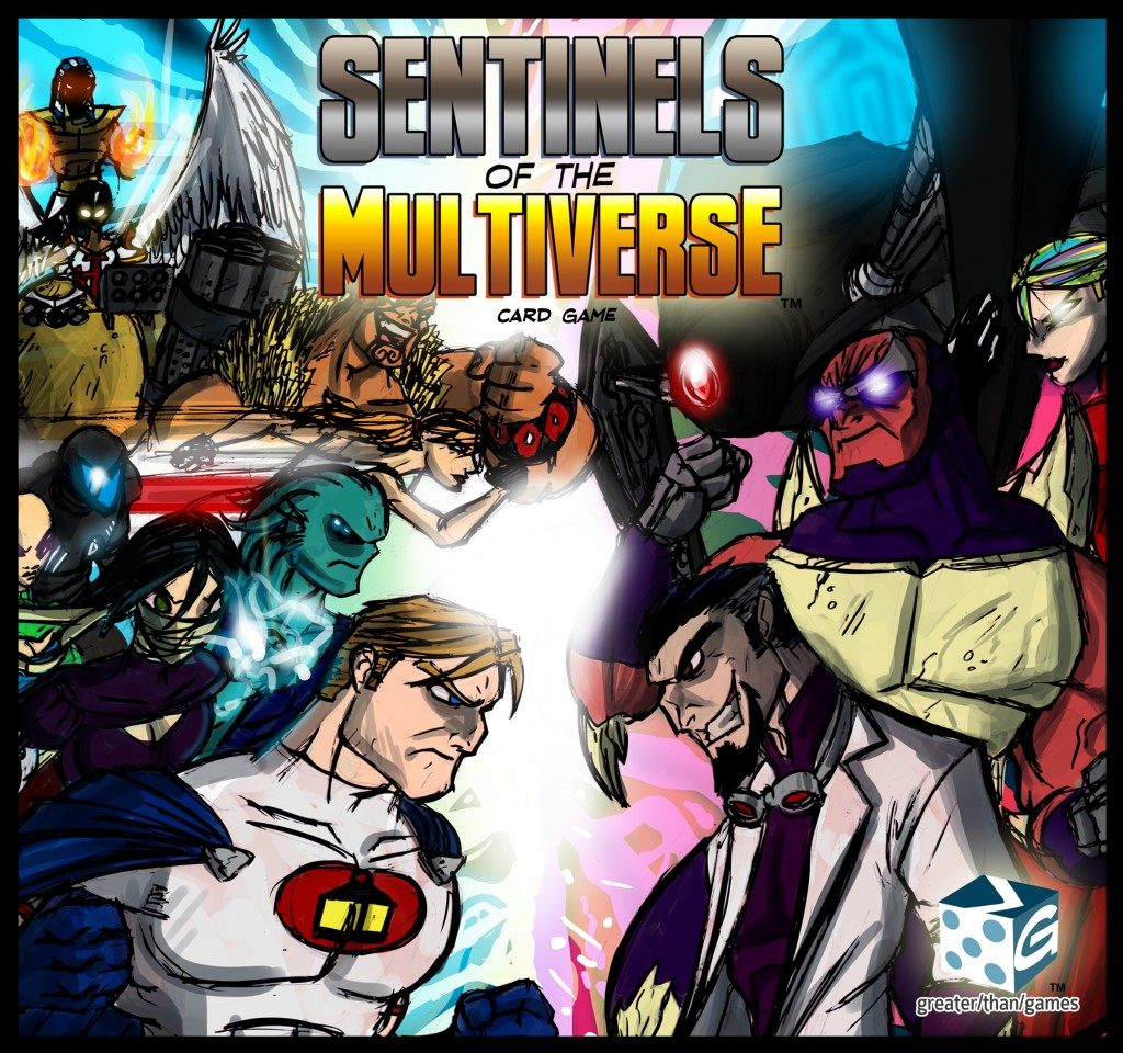 Board Game Review - Sentinels of the Multiverse