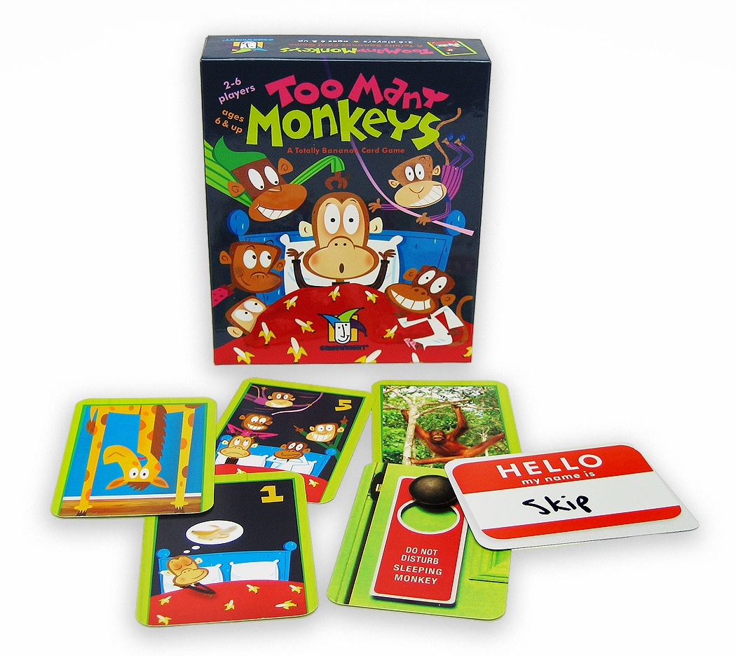 Board Game Review: Too Many Monkeys - Engaged Family Gaming