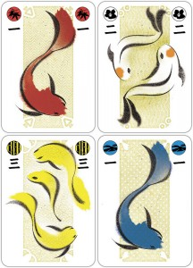 Koi Pond Card Game