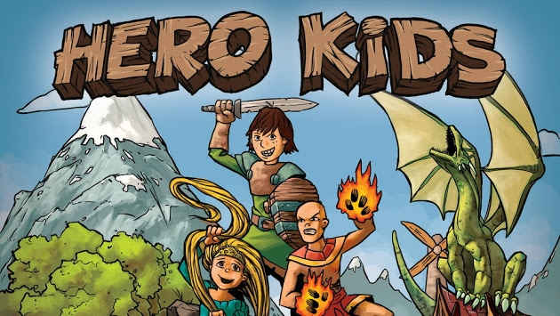 Hero Kids Adventure Module: Adventures in Bayhaven