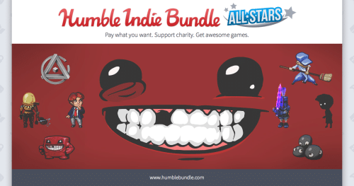 The Humble Indie Bundle All-Stars Have Arrived!