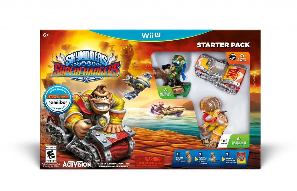 Nintendo Bringing Exclusive Guest Characters to Skylanders Super Chargers!