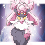 Mythical Pokemon Diancie