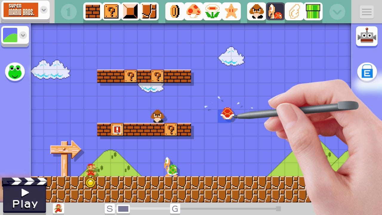 Console Game Review: Super Mario Maker