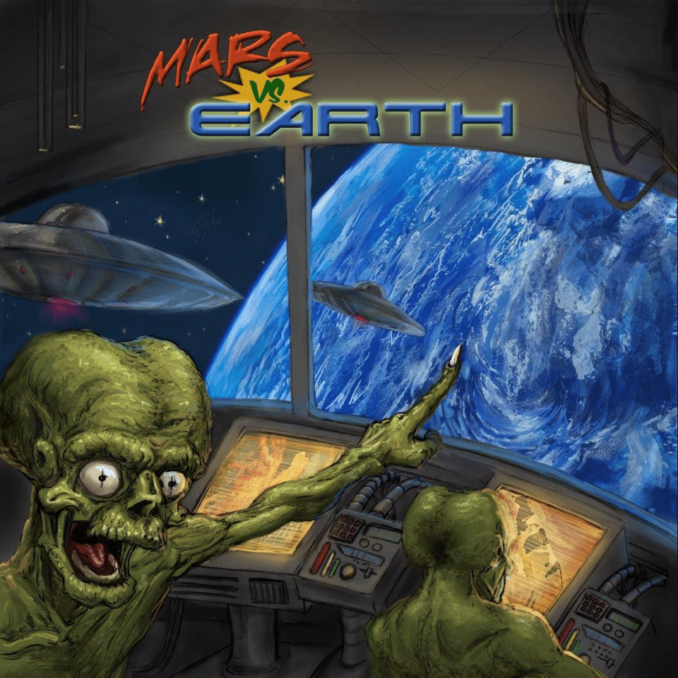 Board Game Review: Mars vs Earth
