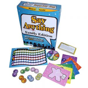 Family Board Game Review: Say Anything Family Edition