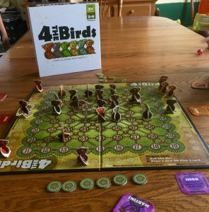 Family Board Game Review - 4 The Birds