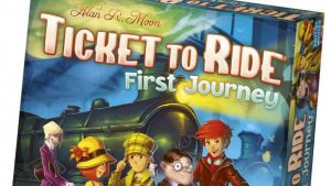 Family Board Game Review - Ticket to Ride: First Journey