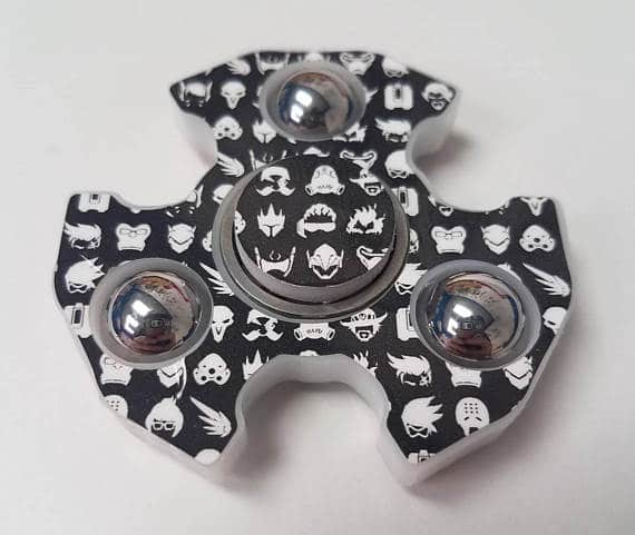 Overwatch Character Icone Fidget Spinner