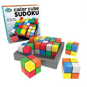 Board Game Review: Color Cube Sudoku