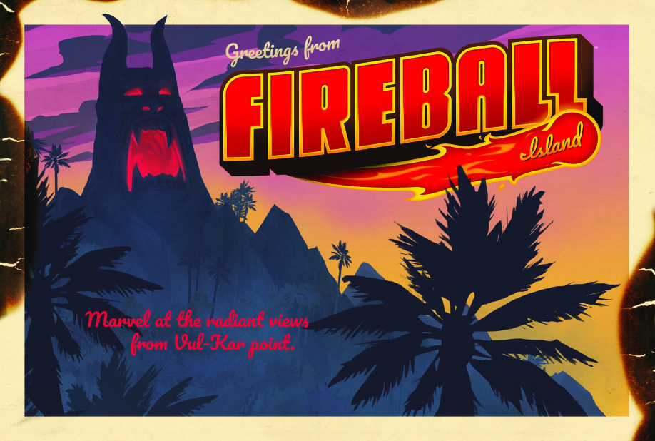 Fireball Island - Restoration Games