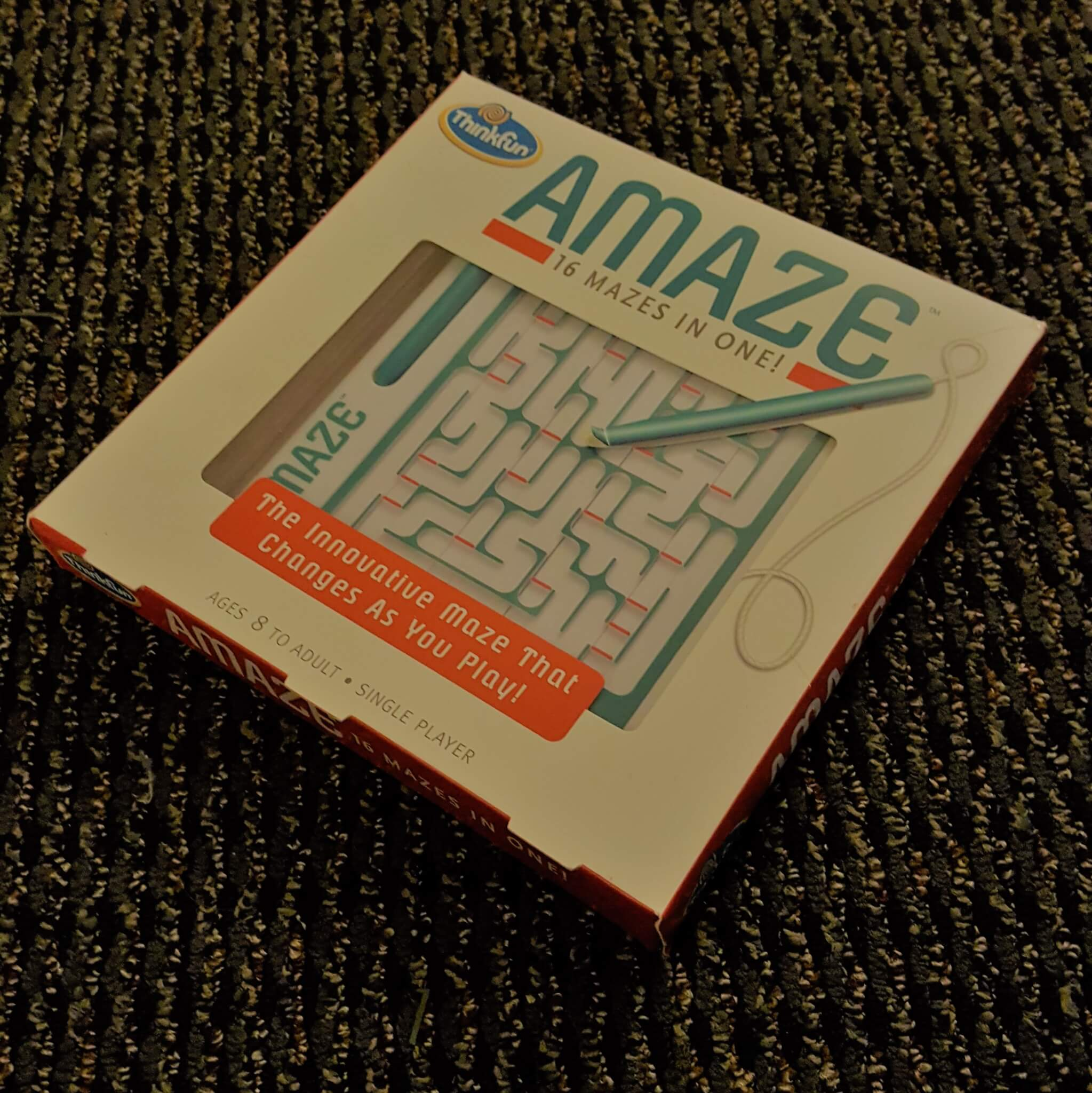 Family Board Game Review: Amaze