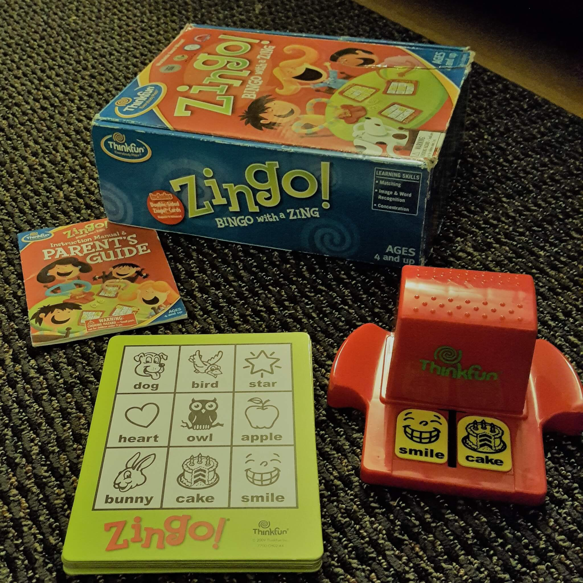 Family Board Game Review: Zingo