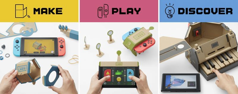 Nintendo Labo: Potential Risks and Rewards