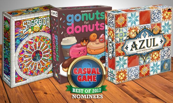 best casual board games 2017