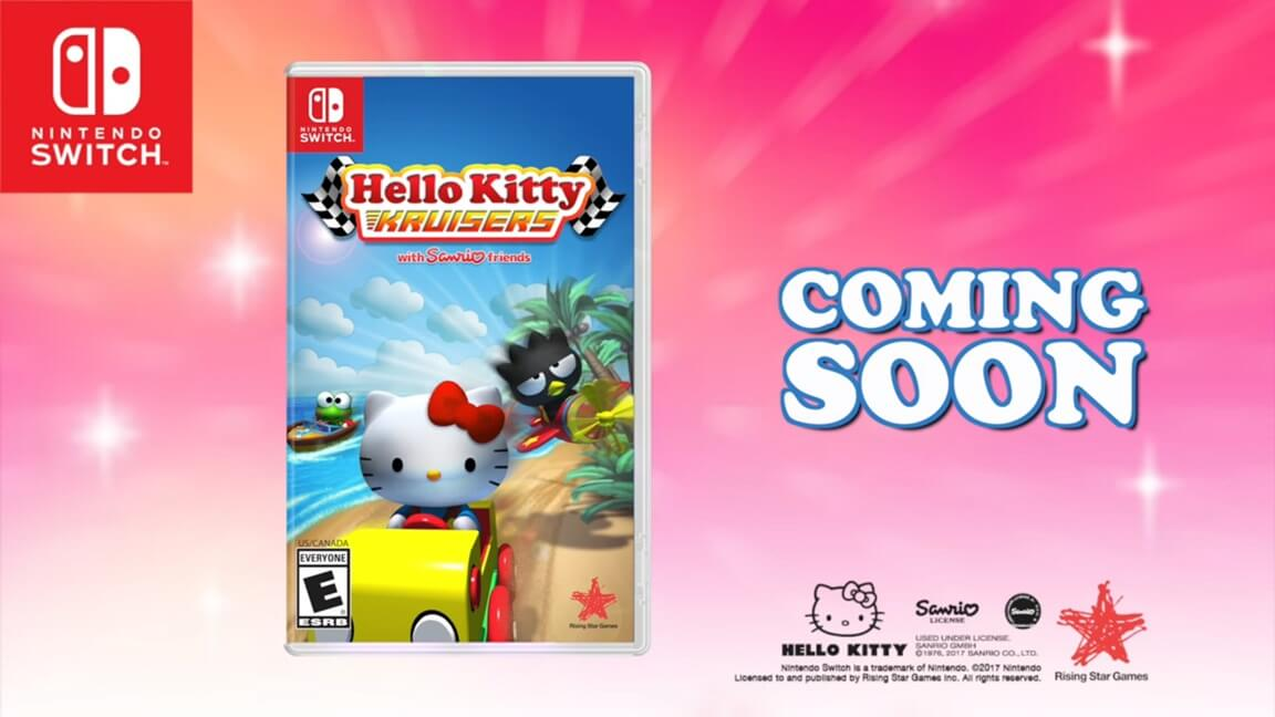Hello Kitty Kruisers is Coming to the Nintendo Switch!