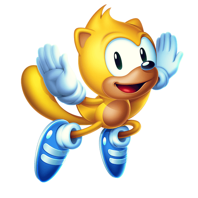 sonic-mania-plus ray the Squirell