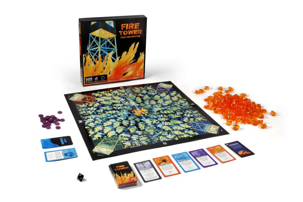 Family Board Game Preview: Fire Tower