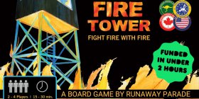 Fire Tower board game logo