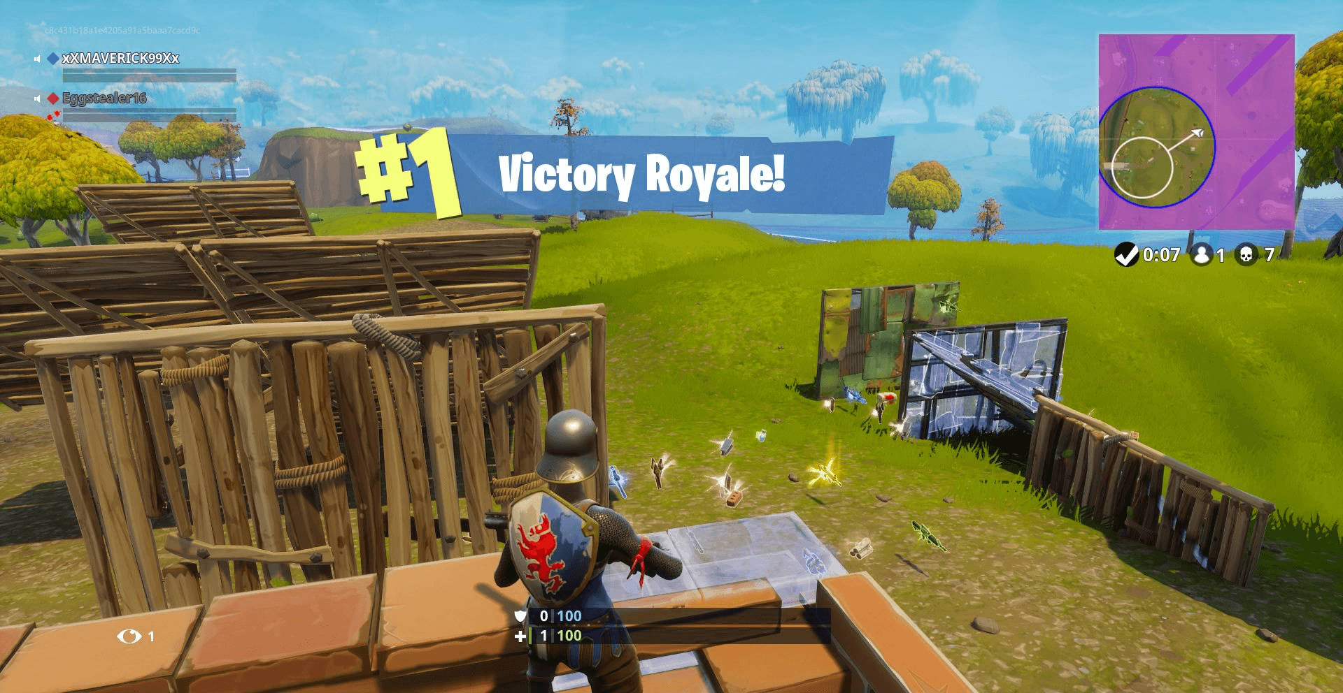 Fortnite Victory Royale!